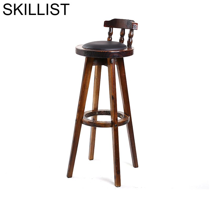 Sedie Sandalyeler Hokery Sgabello Taburete De La Stuhl Stoelen Para Barra Banqueta Leather Stool Modern Cadeira Silla Bar Chair