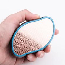 Removedor de calos de arquivo de pé portátil pedicure ação de calcanhar áspero removedor de pele dura