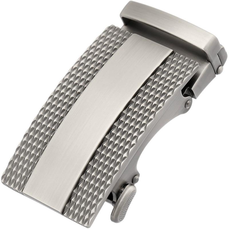 New Fashion Men's Business Alloy Automatic Buckle Unique Men Plaque Belt Buckles For 3.5cm Ratchet Belt Luxury Brand LY125-1056