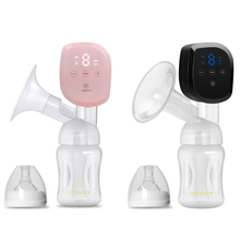 Cmbear ZRX - 0901 Electric Breast Pump Personal Portable Rechargeable LED Display Bottle Teat Anti-Reflux Pumps