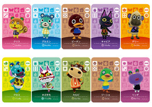 New Amiibo Card NS Game Series 1 (001 to 040) Animal Crossing Card Work for