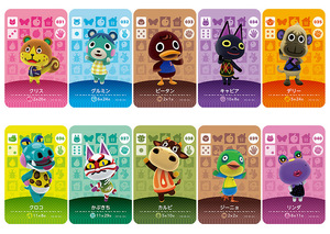 Image 1 - New Amiibo Card NS Game Series 1 (001 to 040) Animal Crossing Card Work for