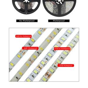 Image 4 - LED Strip 5630 5730 Warm White/Cold White DC12V Flexible LED Strip Light Brighter Than 5050 LED Tape Waterproof 60LED/M 5m/lot.
