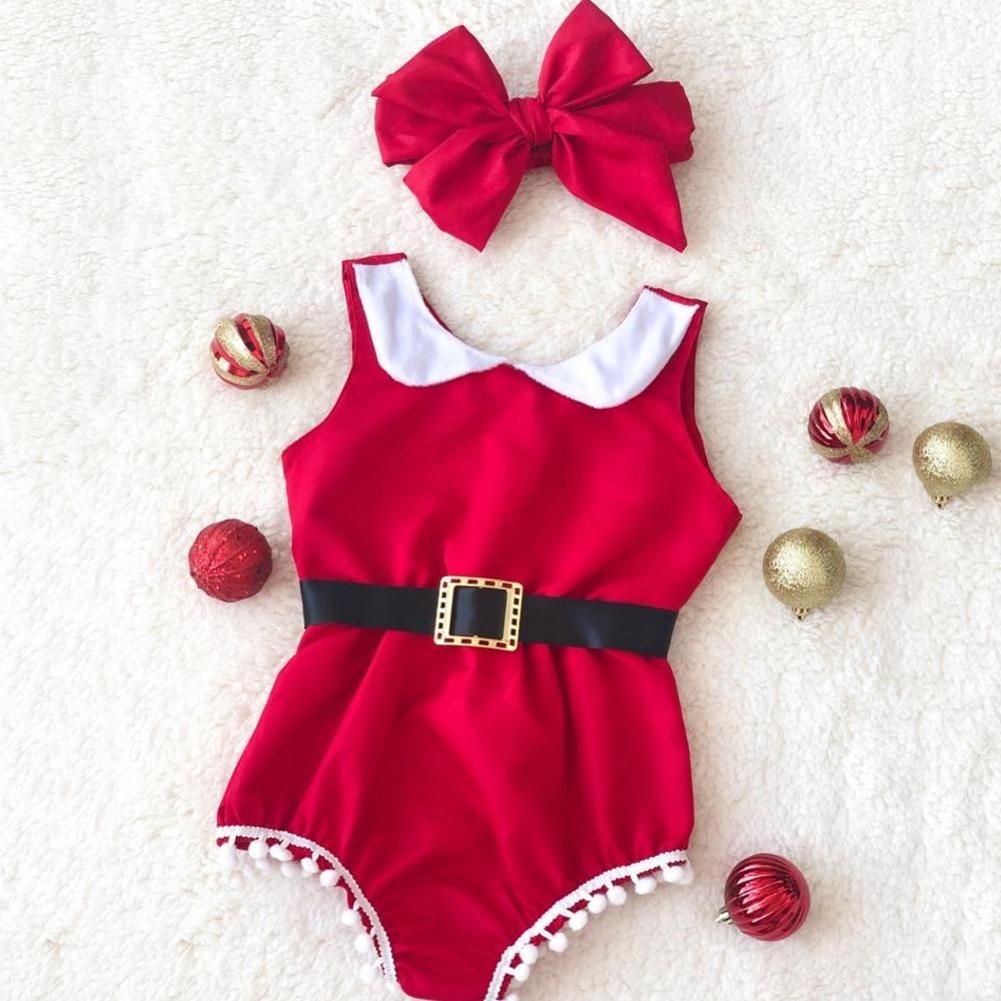 My 1st Christmas Tassel Jumpsuit
