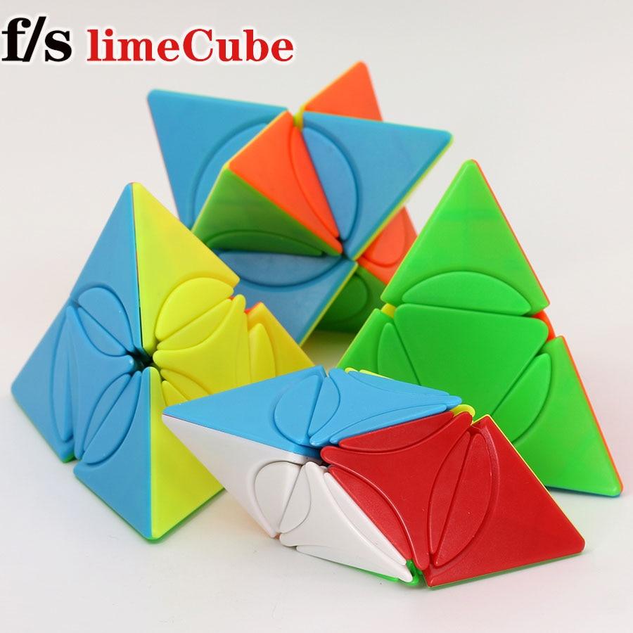 Magic Cube Puzzle Fs LimCube 2x2x2 Circle Series Circle Pyramid Plus Dino Star Plus LiuSeLingJing II Pyramid Cube Toy Game Cubes