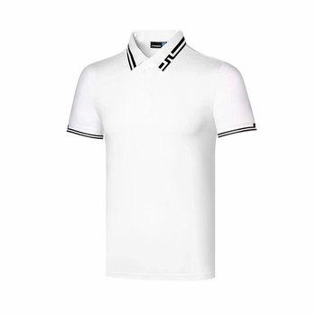 Wirujące 2020 torba na sprzęt do golfa nowa letnia koszulka golfowa JL oddychające T-shirt do golfa 4 kolor darmowa wysyłka tanie i dobre opinie Poliester Krótki Anty-pilling Anti-shrink Koszule Pasuje prawda na wymiar weź swój normalny rozmiar Dobby