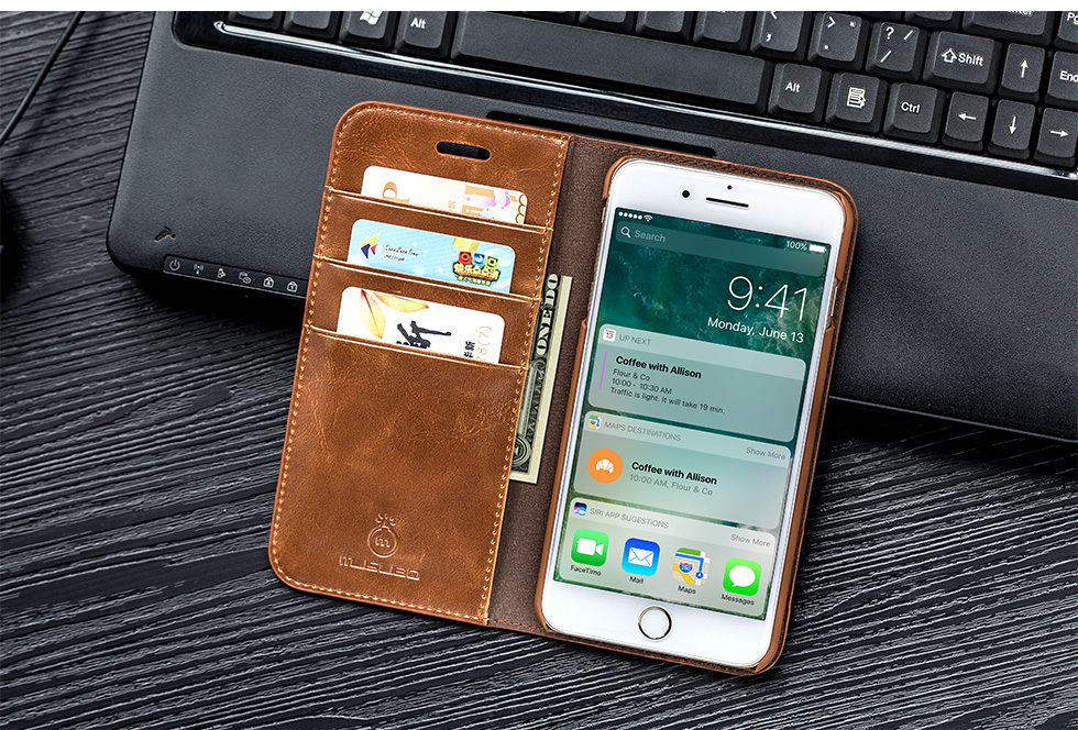 Genuine Leather Case for iPhone SE (2020) 66