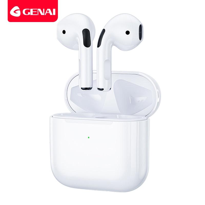 Bluetooth 5,0 Wahre Drahtlose Ohrhörer mit Lade Box Wasserdichte Kopfhörer Bequem Leichte Mini TWS Kopfhörer für Sport