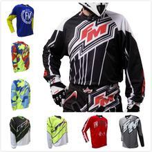 New Moto Clothes Long Sleeve Racing Motocross moto Jersey MX MTB Off Road Mountain Bike Bicycle DH Shirt ATV BMX