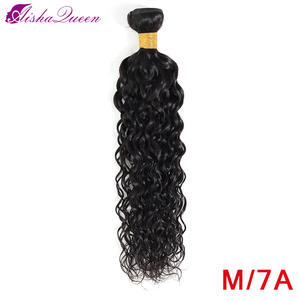 Hair-Extensions Bundle Weave Water-Wave Aisha-Queen Brazilian 100%Human-Hair Non-Remy