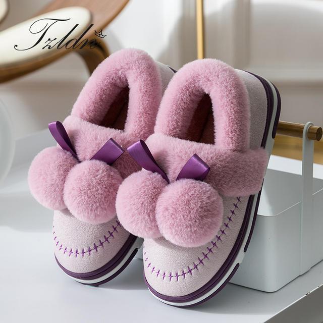 Women's Winter Suede Plush Shoes