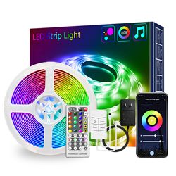 Wifi Light Fairy Lights Highlight LED 24 V Tuya WiFi 15m With 40-key Remote 15 M EU UK US Alexa 24V Multi-color Lamp Chain