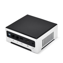 TOPTON Günstigste i7 i9 Mini PC Intel Core i9 10880H 9880H Windows 10 Pro Barebone Desktop-Computer 2 * DDR4 4K HTPC minipc 2 Nics