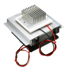 1PC Thermoelectric Refrigeration Cooler DC 12V Semiconductor Air Conditioner Cooling System DIY Kit 40x40x2.6mm