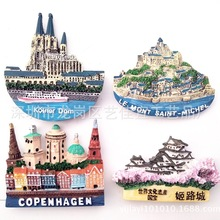 Fridge Magnet Denmark Copenhagen Decor Seaports-Refrigerator Magnet-Fridge-The-French