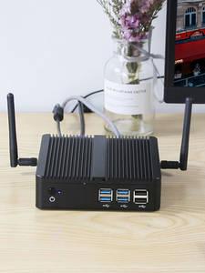 XCY HTPC Msata Ssd Gigabit Mini Pc I5 4010U Intel-Core Lan-Fanless Ddr3l-Ram HDMI Windows-10