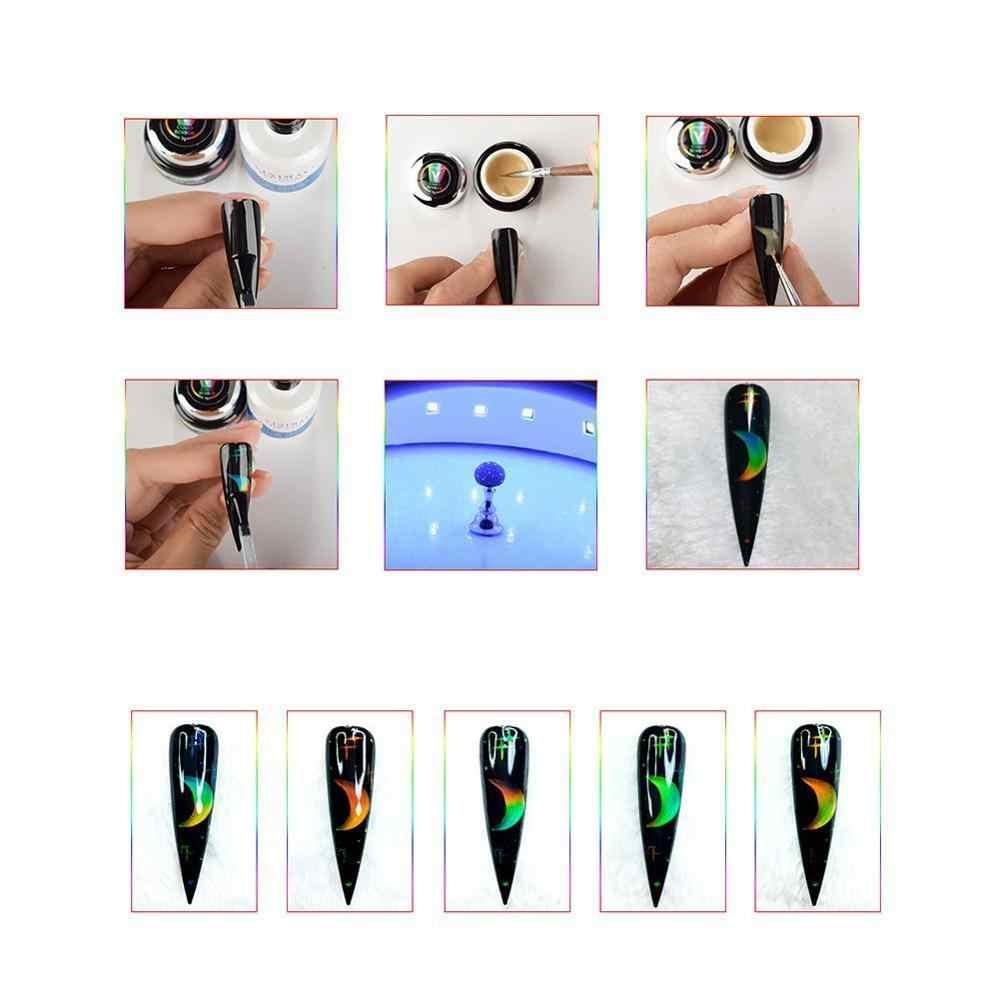 Thermochromique à Cristaux Liquides changeant de Couleur D'humeur UV LED Tremper Pédicure Gel Vernis À Ongles Vernis Permanent Laque