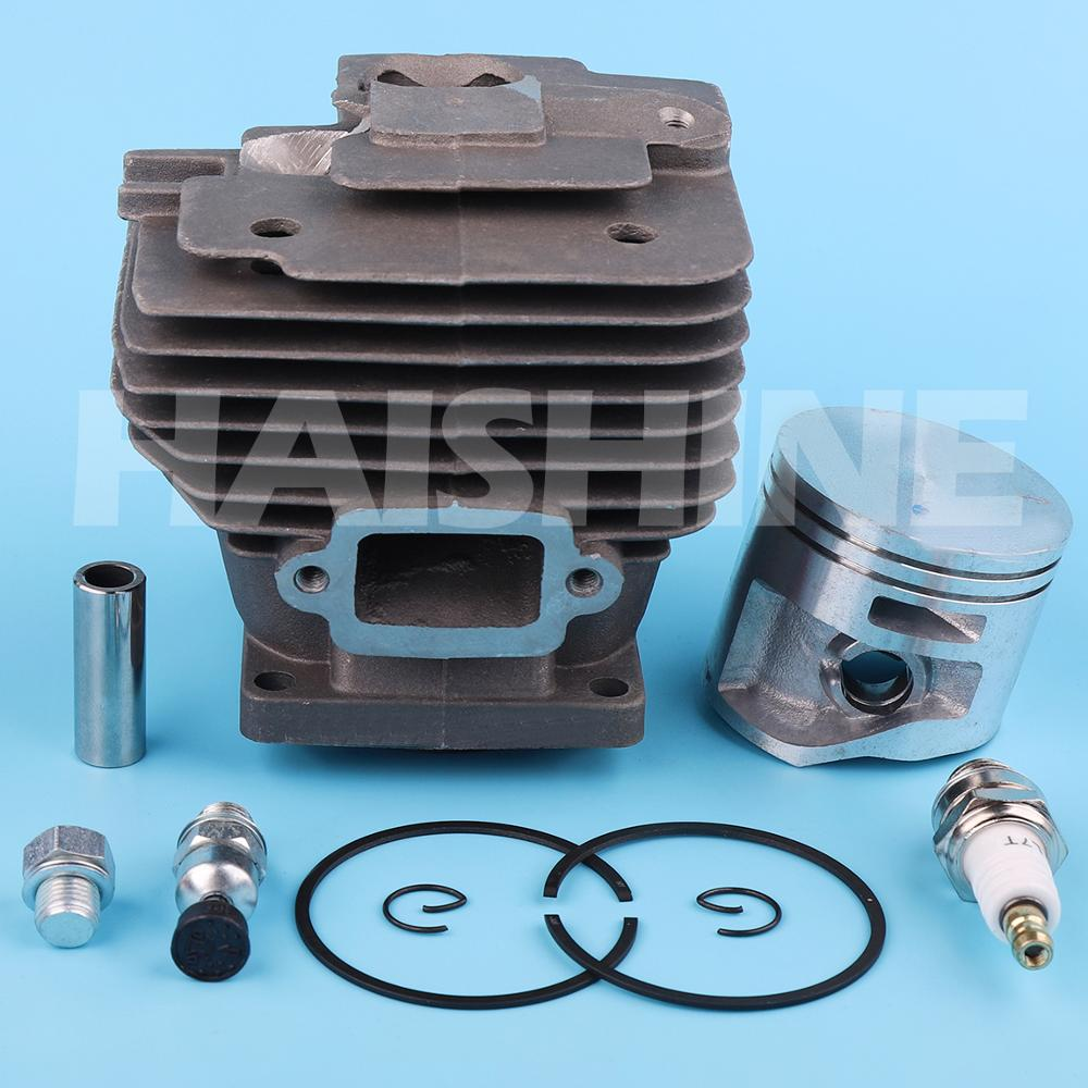 52mm Nikasil Big Bore Cylinder Piston Ring Spark Plug Kit For Stihl MS441 MS 441 Chainsaw Replacement Spare Part 1138 020 1201