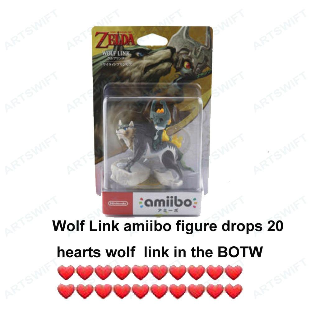 Nintendo переключатель Amiibo 20 сердца волк ссылка медная Сумеречной принцессы легенда о Зельде дыхание дикой природы