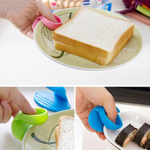 Mitts Cooking-Baking-Holder-Tool Microwave Oven Heat-Insulated-Finger-Glove BBQ Kitchen