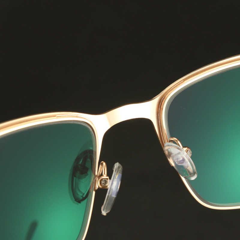 Iboode, gafas de sol fotocromáticas de transición para lectura, gafas de sol graduales para hombre y mujer con marco de Metal UV400 para dioptrías de presbicia