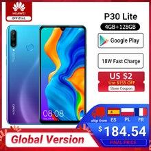 In stock Global Version Huawei P30 Lite 4GB 128GB Smartphone 6.15 inch Kirin 710