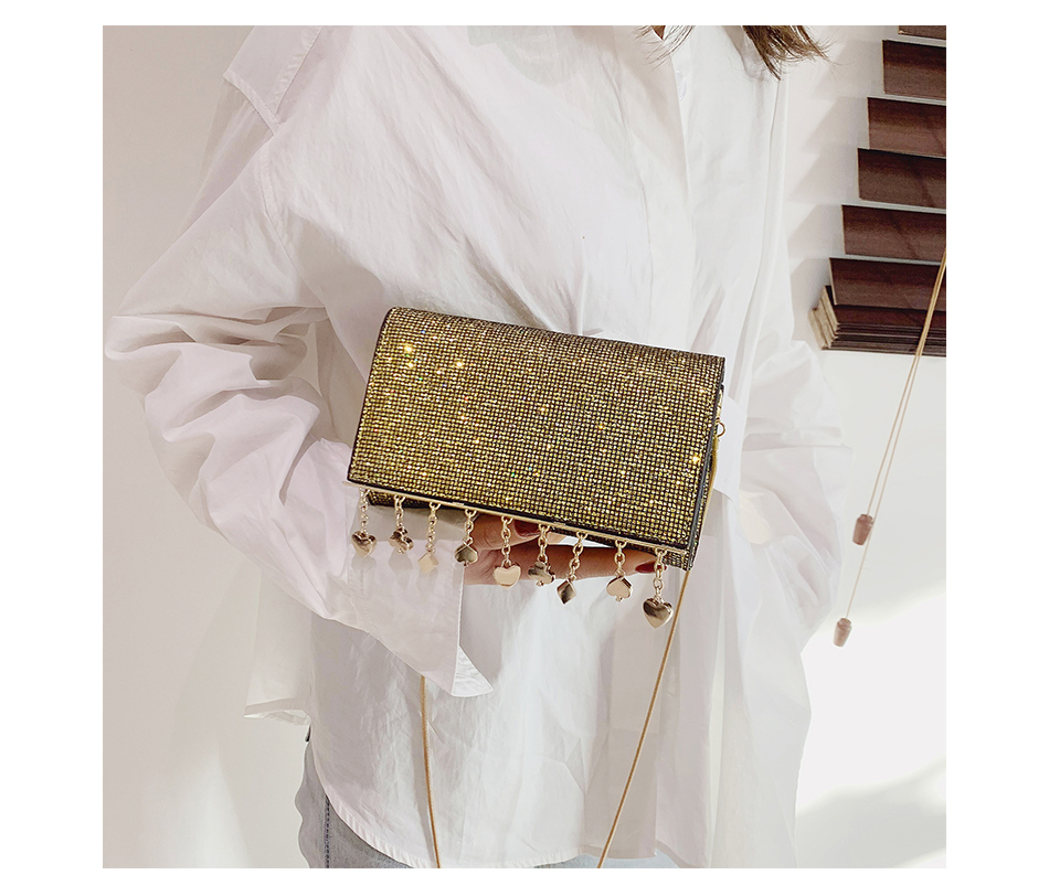 H2c938810a2cf4726be4794d6f2331e81Q - Women Sequin Glitter Evening Clutch Bag Ladies Sparkly Design Wedding Party Shiny Handbag Lady Chain Metal Shoulder Bag