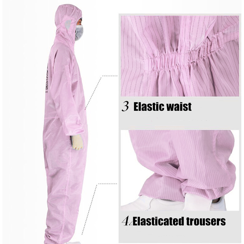 Disposable Protective Clothing as Coverall Medical Uniform and Isolation Suit for Nurse and Doctors 11