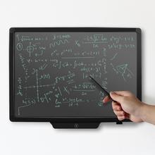 20 дюймов электронный ЖК-дисплей почерк планшет доска для рисования каллиграфия практика доска буфер обмена для взрослых/детей список заметок