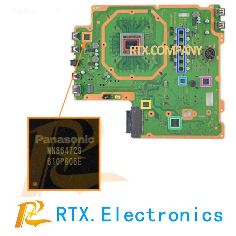 PS4 Slim Pro HDMI IC Chip Panasonic MN864729 MN86471A Sony Play Station 4 CUH-1200 Port Filter HDMI Video Output/- Manual Choke