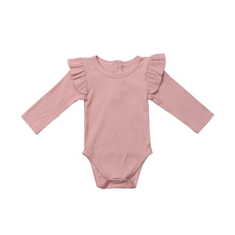 US Newborn Infant Baby Girls Bubble Tail Romper Outfit Playsuit Jumpsuit Clothes