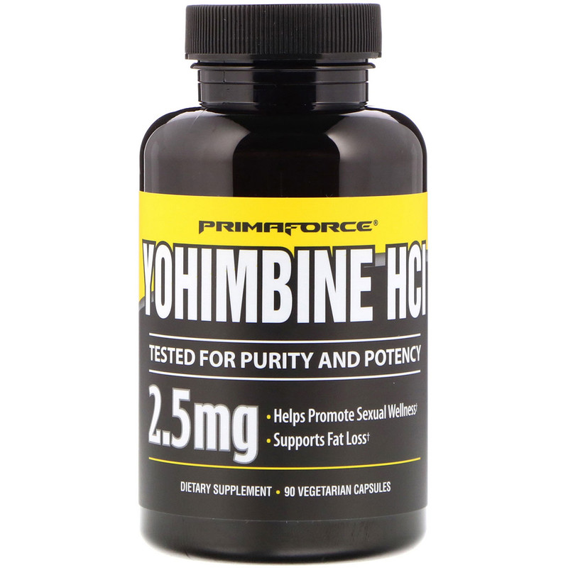 Yohimbine Hydrochloride 90pcs Adrenergic Receptor Inhibitor Vasodilation