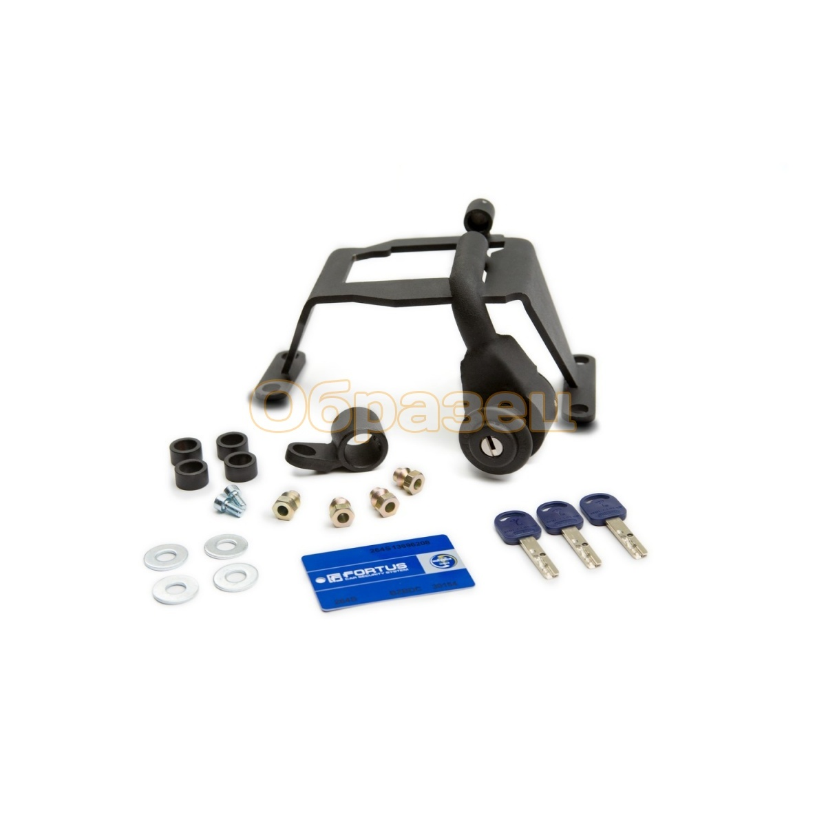 Gearbox lock (MTL) 2421 INT for Ravon R4 2016   5MT Car Steering Wheel Lock     - title=