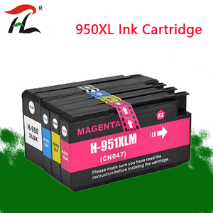 Compatible ink Cartridge 950 951 XL for hp Officejet pro 8100 8610 8620 8630 8600 8660 8640 8680 8615 printer 950XL 951XL