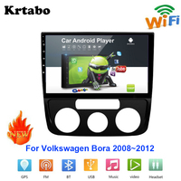 Car radio Android multimedia player For Volkswagen Bora 2008~2012 Car touch screen GPS Navigation Support Carplay Bluetooth