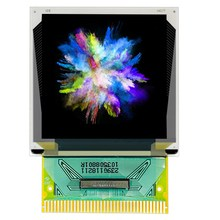 1.46 inch OLED color display soldered 37PIN resolution 128*128 drive SSD1351U4R1