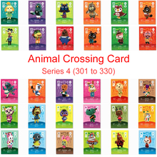 Animal Crossing Card Amiibo Work for NS Games Amibo Switch New Horizons Series 4 (301 to 330) Villager