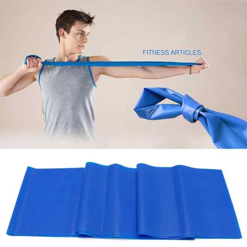 Bandas elásticas de resistencia para Yoga, estiramiento, ejercicio, equipo de Fitness, cuerda, gimnasio, entrenamiento deportivo
