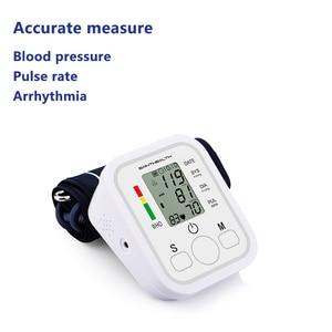 Image 2 - Equipamento médico tonômetro digital braço superior tensor monitor de pressão arterial medidor medição dispositivo medidor arterial bpmonitor