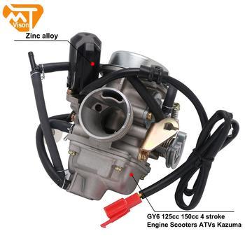 Carburador de Zinc Universal para motocicleta Yamaha GY6, Carburador de 125cc y 150cc, PD24J, CVK, ATV, Kazuma, QUADS, GO-KART