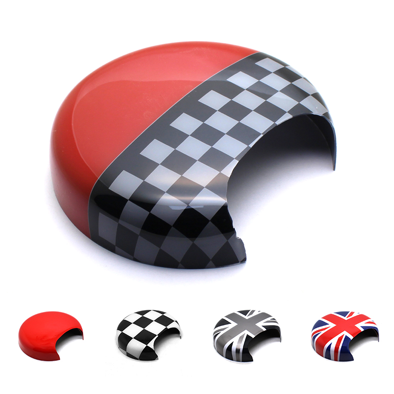 KJAUTOMAX For Mini Cooper R50 R52 R53 Tachometer Shell Union Jack Grey Jack Checker JCW  Pink Red Car Styling Accessories