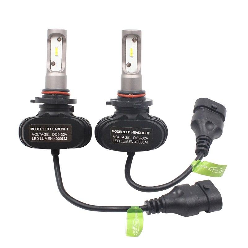 S1 50 Вт 8000lm H16 5202 H1 H7 H8 H9 H11 светодиодный налобный фонарь для автомобиля H27 880 881 светодиодный налобный фонарь H7