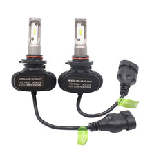 S1 H16 50W 8000lm 5202 H1 H7 H8 H9 H27 H11 Car LED Farol farol lâmpada 880 881 LED farol lâmpadas H7