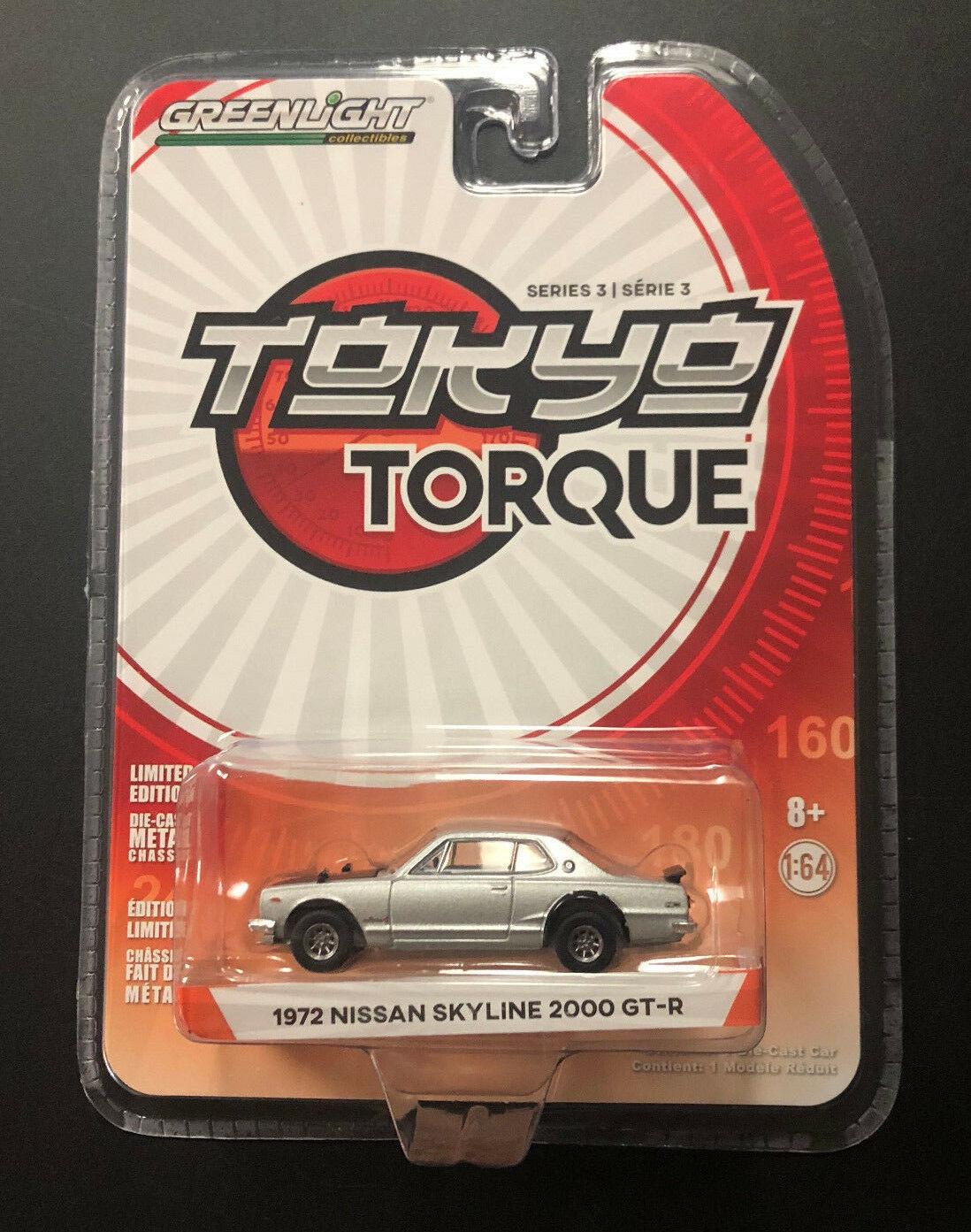 Greenlight car1 64 tokyo torque series nissan