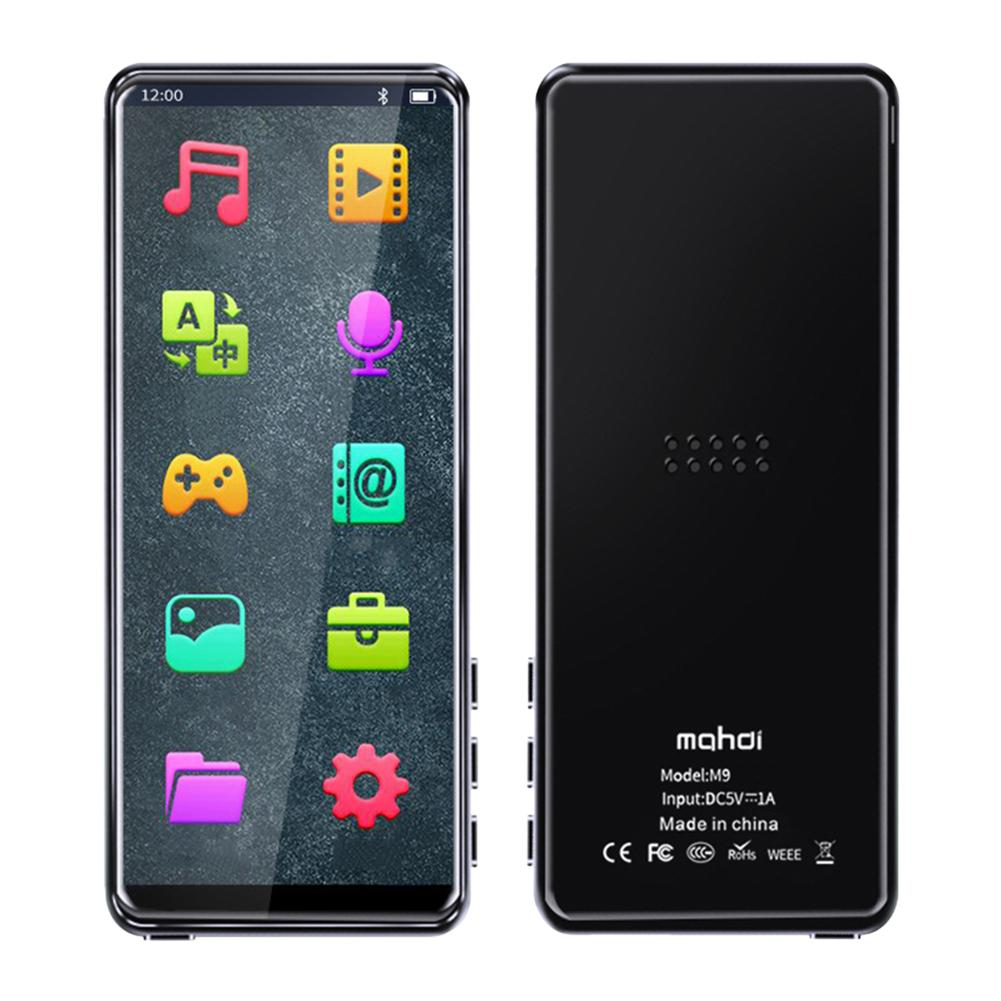 M9 Full Screen Bluetooth <font><b>MP3</b></font> Spielen Full Touch Screen FM Radio Aufnahme Bild Browsing Lange Standby Mp 4 MP5 Für student image