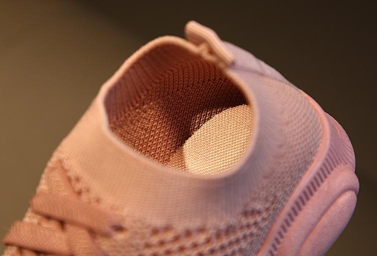 do bebê sneaker casual sapatos esportivos planos