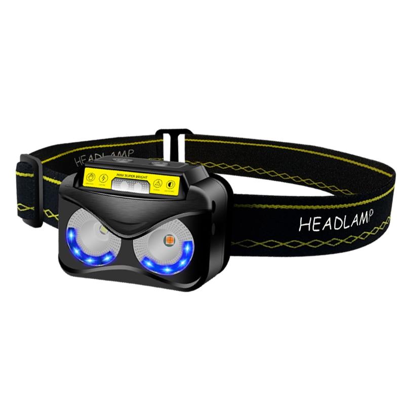 Panyz K190 Headlight 2  CREE XP-G2 S3 max 360 lumen Headlamp beam distance 81m outdoor head light with USB charging cable