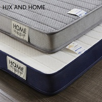 Five layer material composition mattress 9cm Single double size Sponge latex filling stereoscopic student dormitory Tatami