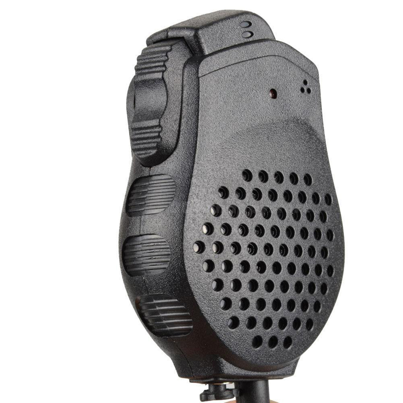 Double PTT ham Microphone with Speakers for Kenwood series Two Way Radio Mic