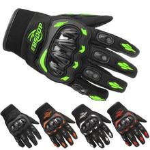 Guantes de motocicleta transpirables de dedo completo, protección para deportes al aire libre, ciclismo, Cross Dirt Bike, Guantes para Moto